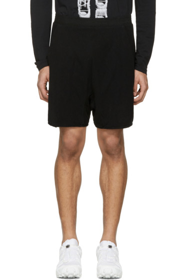 11 by Boris Bidjan Saberi - Black Mesh Jogging Shorts