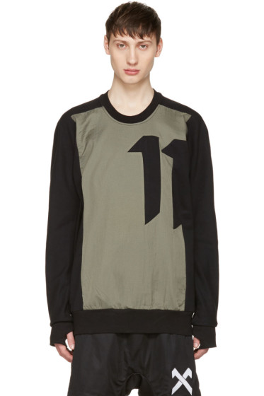 11 by Boris Bidjan Saberi - Black Block Crewneck Pullover
