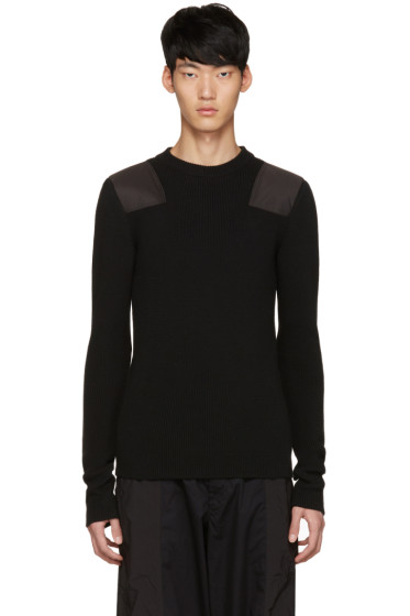 Johnlawrencesullivan - Black Patch Sweater