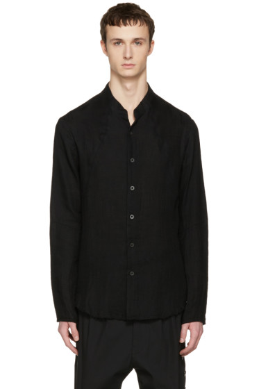 Nude:mm - Black Button Down Shirt