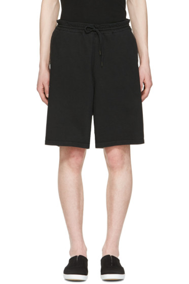 Undecorated Man - Black Drawstring Lounge Shorts
