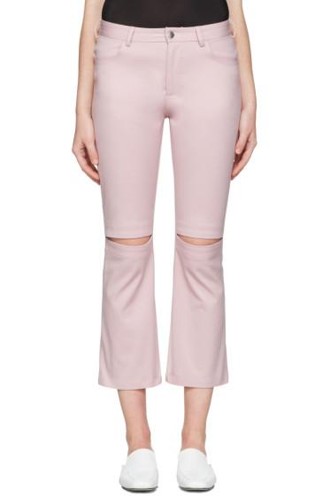 Nomia - Pink Slit Knee Jeans