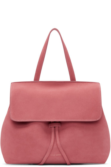 Mansur Gavriel - Pink Suede Mini Lady Bag