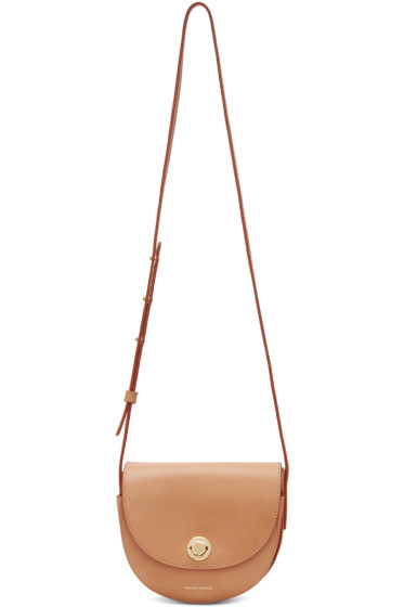 Mansur Gavriel - Tan Mini Saddle Bag