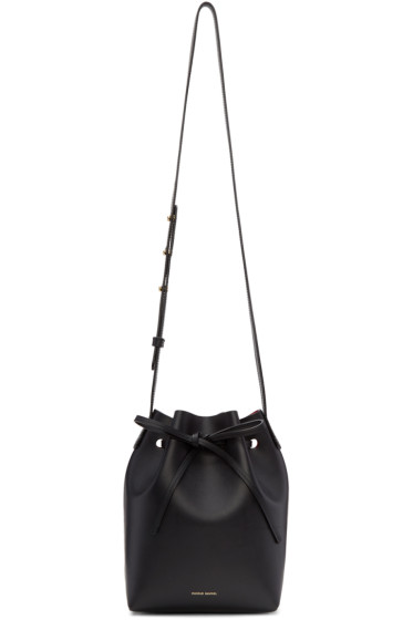 Mansur Gavriel - Black Mini Bucket Bag