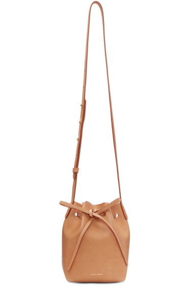 Mansur Gavriel - Tan Mini Mini Bucket Bag