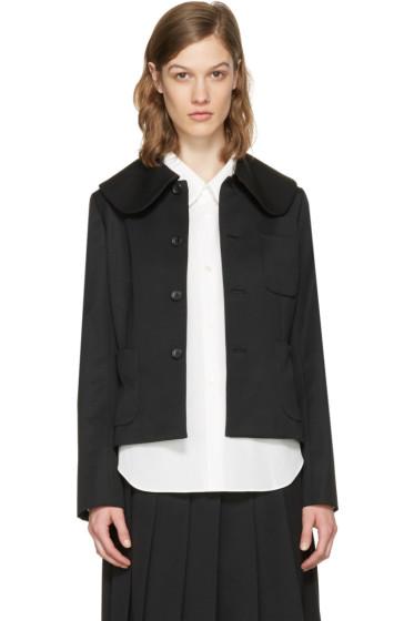 Comme des Garçons Girl - Black Large Collar Jacket