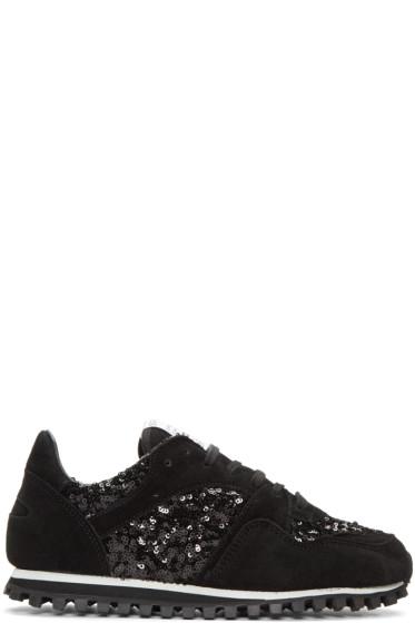 Comme des Garçons Comme des Garçons - Black Spalwart Edition Sequin Sneakers