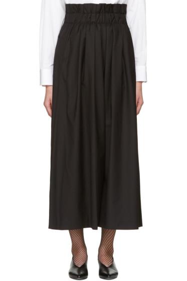 Noir Kei Ninomiya - Black Gathered Trousers