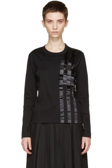 Noir Kei Ninomiya - Black Tape T-Shirt
