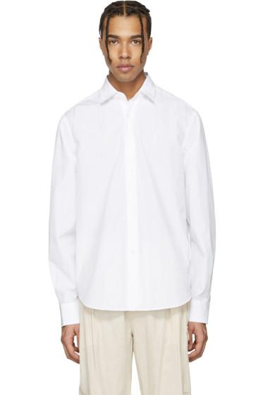 Loewe - ホワイト スレッド シャツ