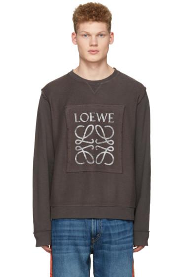 Loewe - グレー ロゴ プルオーバー