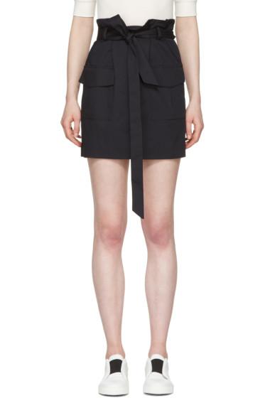 Harmony - Navy Jacynthe Miniskirt