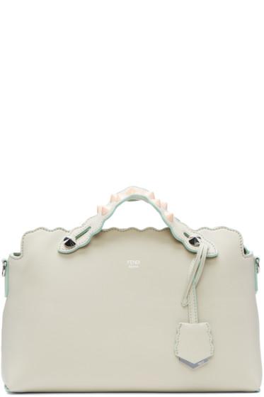 Fendi - Ivory By The Way Boston Bag