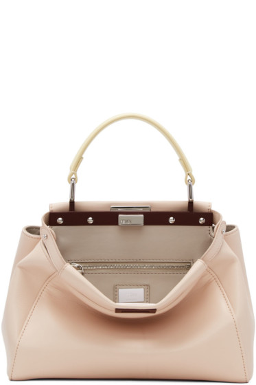 Fendi - Pink Mini Peekaboo Bag