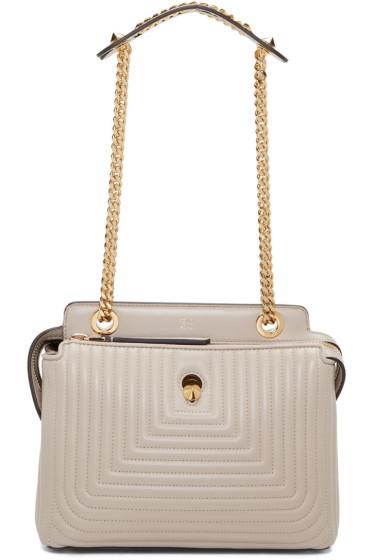 Fendi - Grey Small Dotcom Click Bag