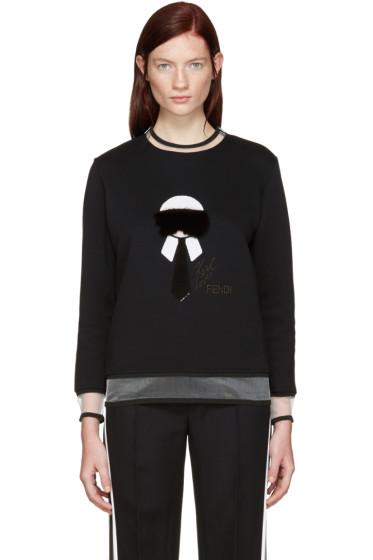 Fendi - Black Karlito Pullover