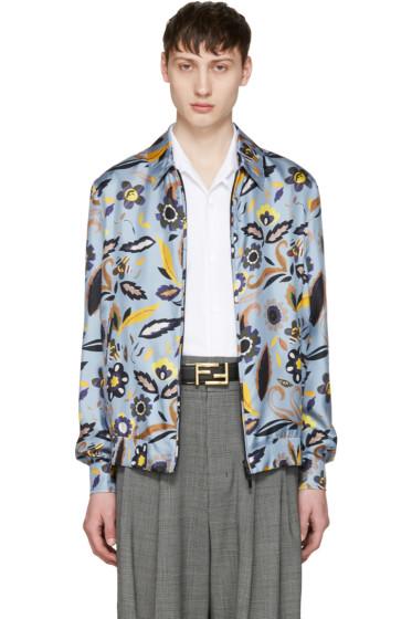 Fendi - Blue Flower Jacket