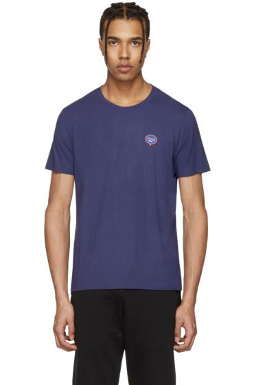Fendi - Blue 'Fendi Bubble' T-Shirt