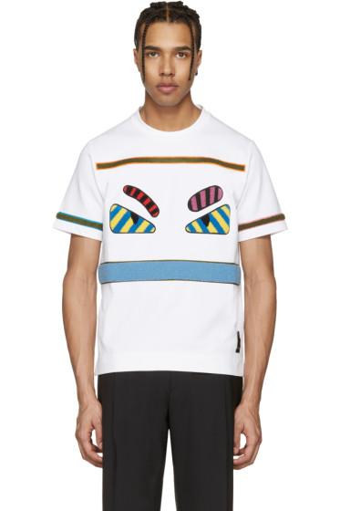 Fendi - White 'Bag Bugs' T-Shirt