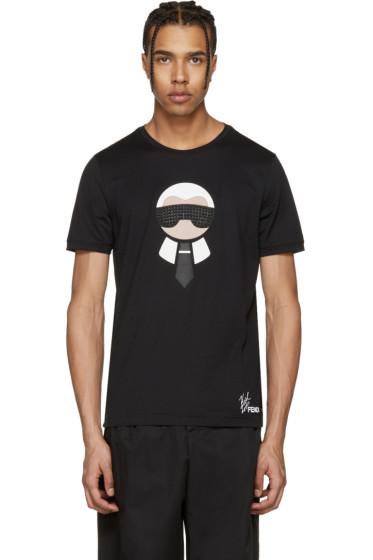 Fendi - Black Karlito T-Shirt