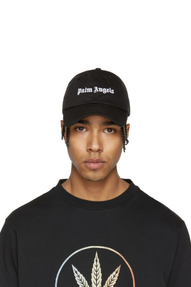 Palm Angels - Black Logo Baseball Cap