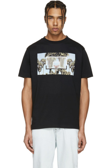 Palm Angels - Black 'Buzer Beater' T-Shirt