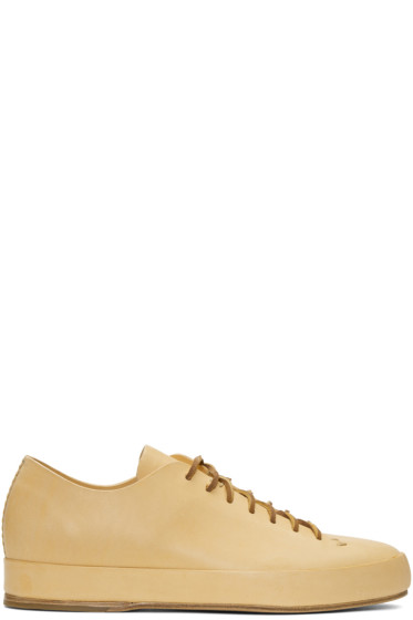 Feit - Tan Hand Sewn Low Sneakers