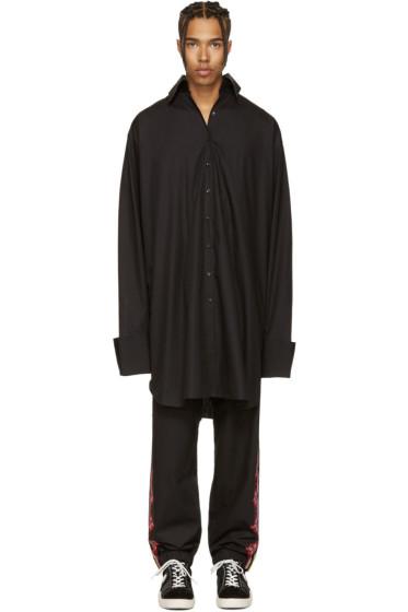 Marques Almeida - Black Oversized XXL Shirt