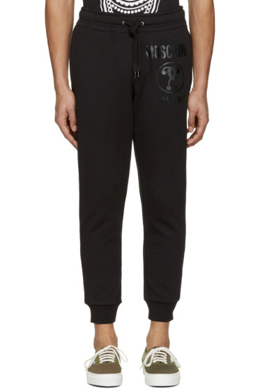 Moschino - Black Logo Lounge Pants