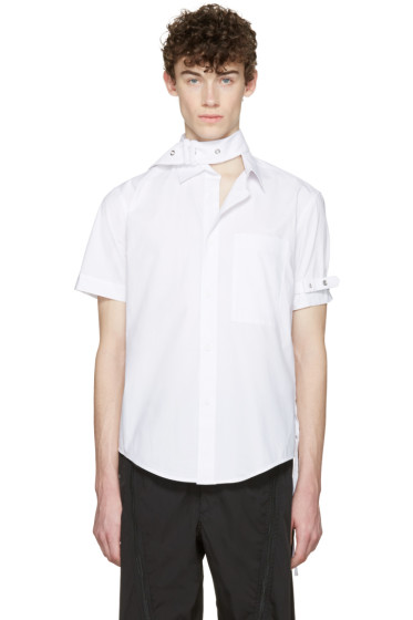 Craig Green - White Cotton Short Sleeve Shirt