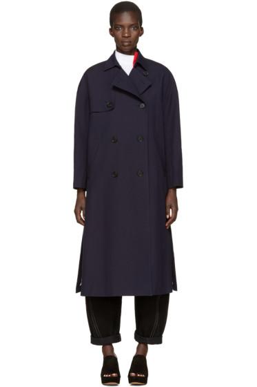 Enfold - Navy Trench Coat