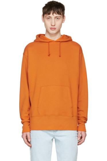 Vans - Orange Our Legacy Edition Logo Hoodie