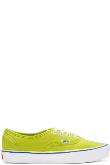 Vans - Green Schoeller Edition Authentic '66 Lite LX Sneakers