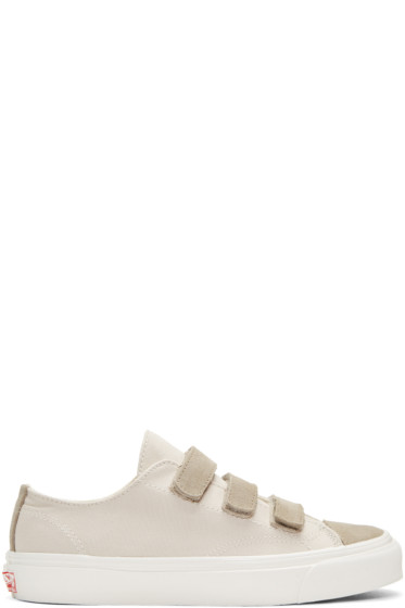Vans - Grey OG Prison Issue LX Sneakers