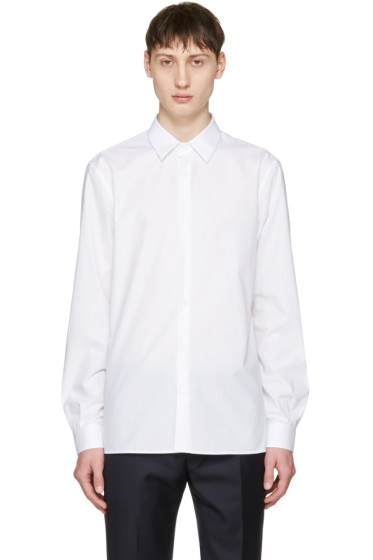 Éditions M.R  - White French Collar Shirt