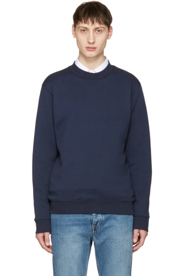 Éditions M.R  - Navy Classic Pullover