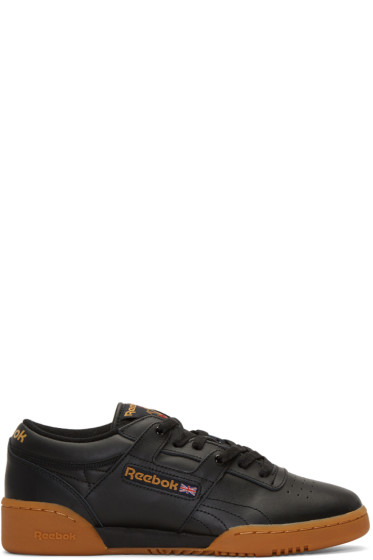 Reebok Classics - Black Workout Sneakers