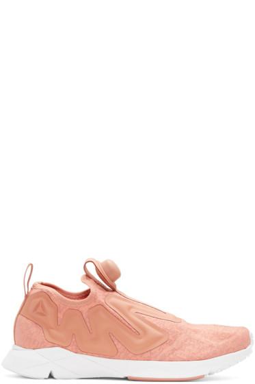Reebok Classics - Pink Pump Supreme Guerilla Sneakers
