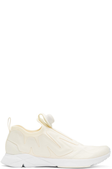 Reebok Classics - Off-White Pump Supreme Guerilla Sneakers