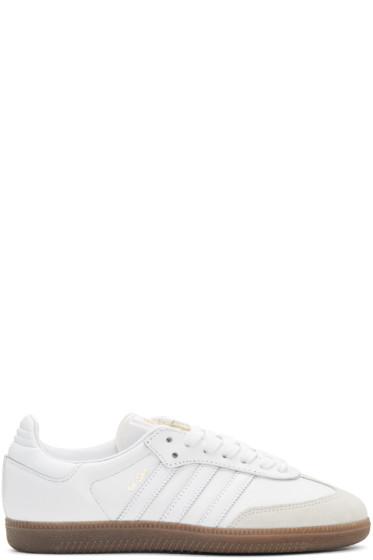 adidas Originals - White Samba OG Sneakers