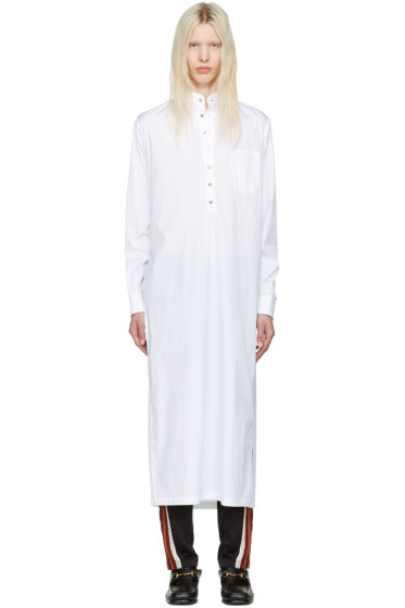 Wales Bonner - White Sterling Shirt