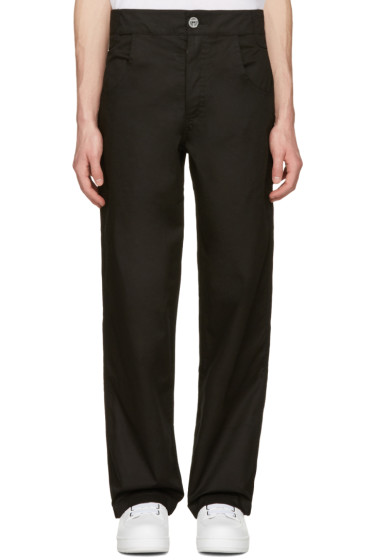 Telfar - Black Straight-Leg Trousers