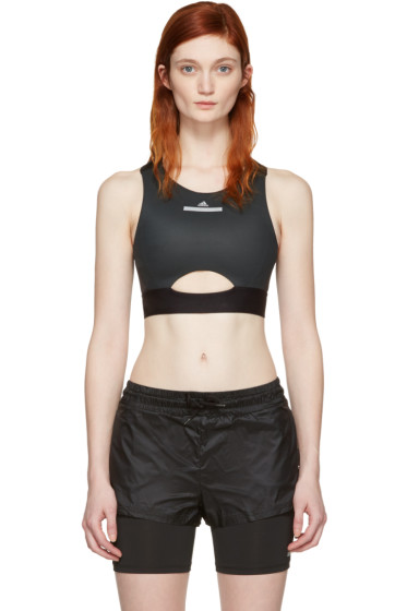 adidas by Stella McCartney - Black Run Bra
