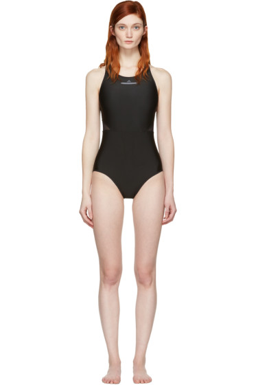 adidas by Stella McCartney - Black Zip Swimsuit