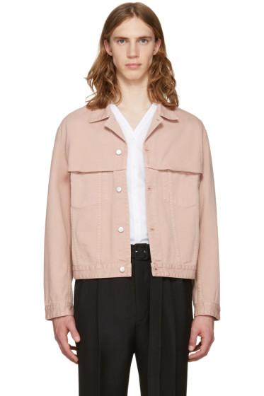 CMMN SWDN - Pink Denim Brody Jacket