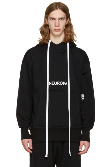 UEG - ブラック Neuropa フーディ