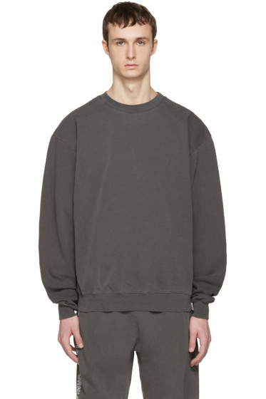 Noon Goons - Grey Cotton Simple Pullover