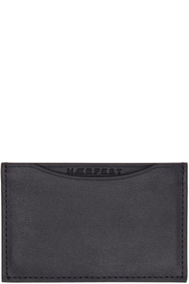 Haerfest - Navy H39 Card Holder