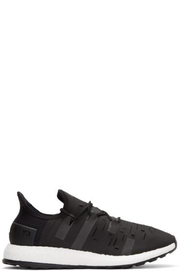 Y-3 SPORT - Black Approach Low Sneakers